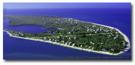 island aerial of north captiva and upper captiva